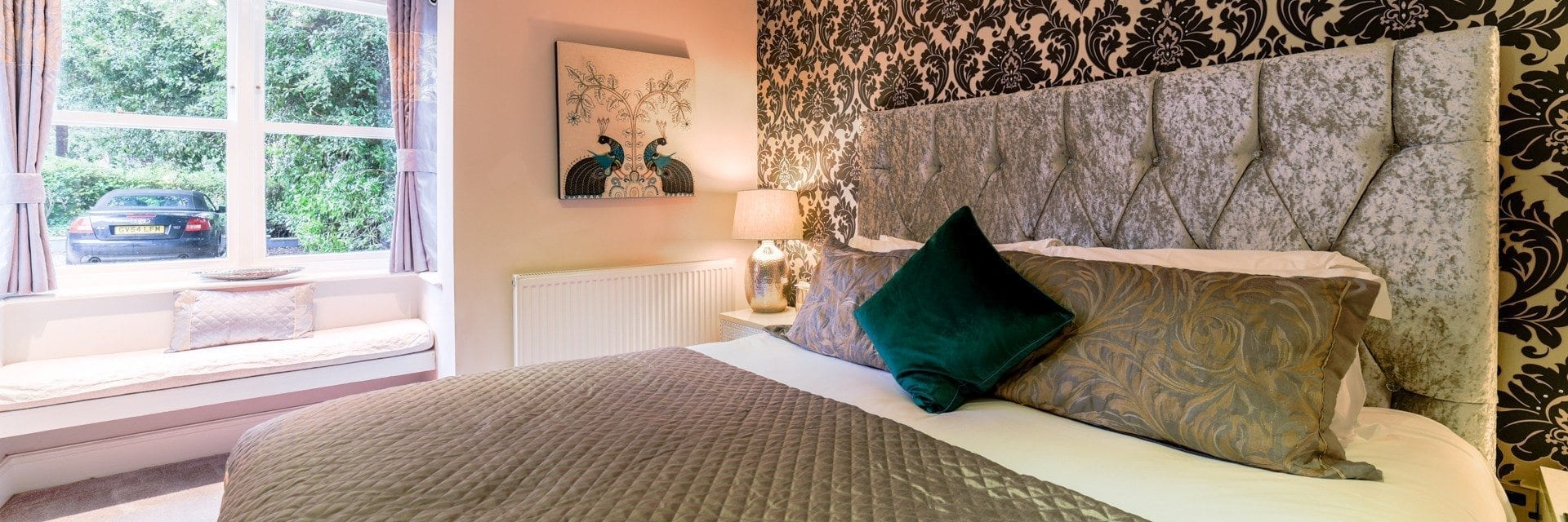 Salisbury Bedroom Derby Manor