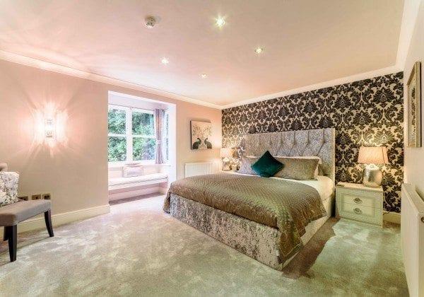 Derby Manor Hotel Bedroom